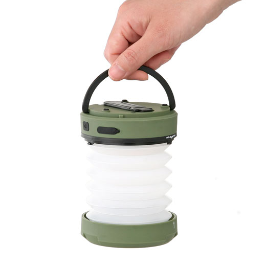 rechargeable LED lantern kikkerland 手持ちランタン