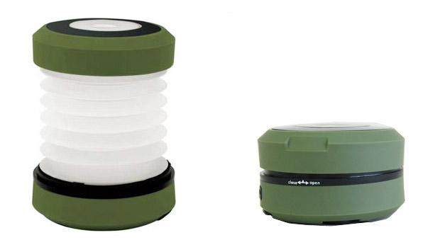 rechargeable LED lantern kikkerland サイズ