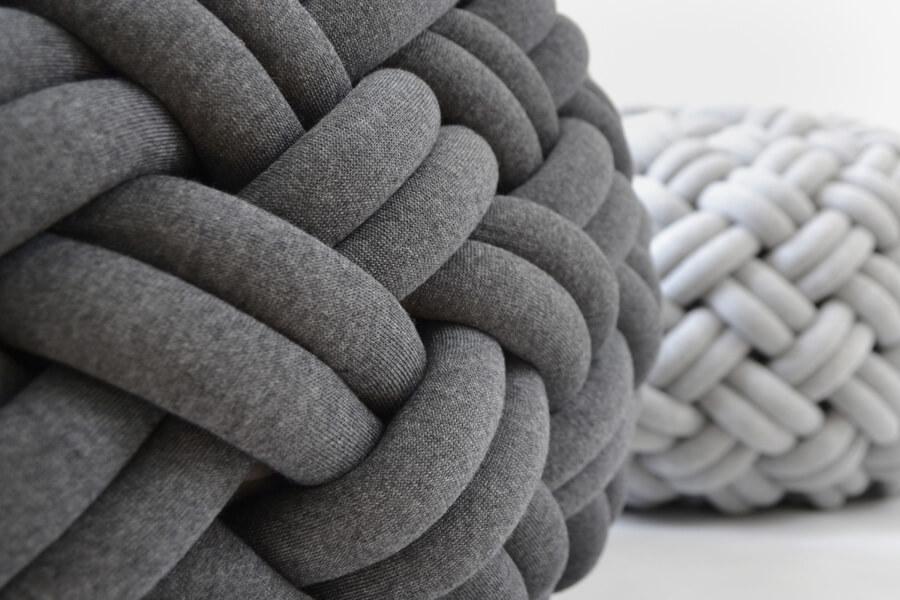 The Knotty Floor Cushion
